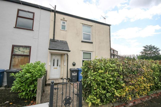 Thumbnail End terrace house to rent in Peel Green Road, Eccles, Manchester