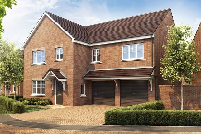 "Thumbnail Detached house for sale in ""The Compton"" at Manor Lane, Maidenhead"