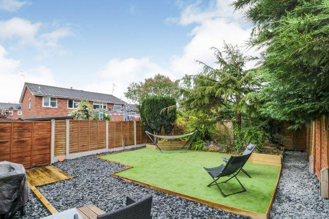 Garden of Millfields Way, Wombourne, Wolverhampton WV5