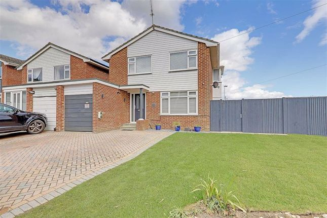 Thumbnail Detached house for sale in Loddon Close, Fleetwing, Worthing, West Sussex