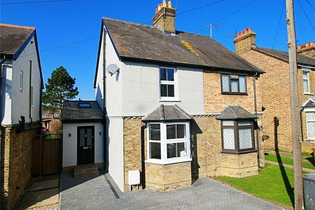 Thumbnail Semi-detached house for sale in Sayesbury Road, Sawbridgeworth, Hertfordshire