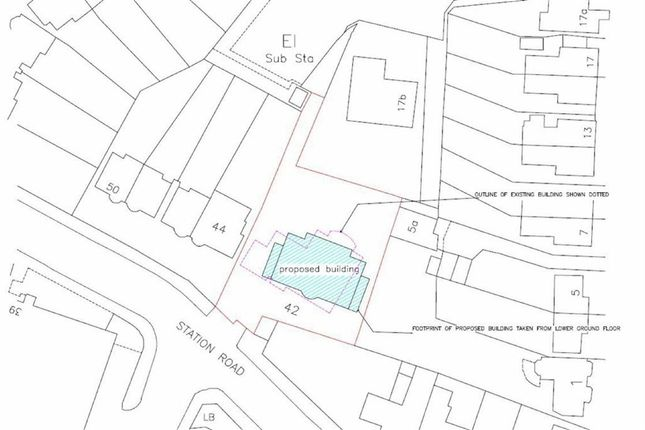Thumbnail Land for sale in Station Road, Winchmore Hill, London