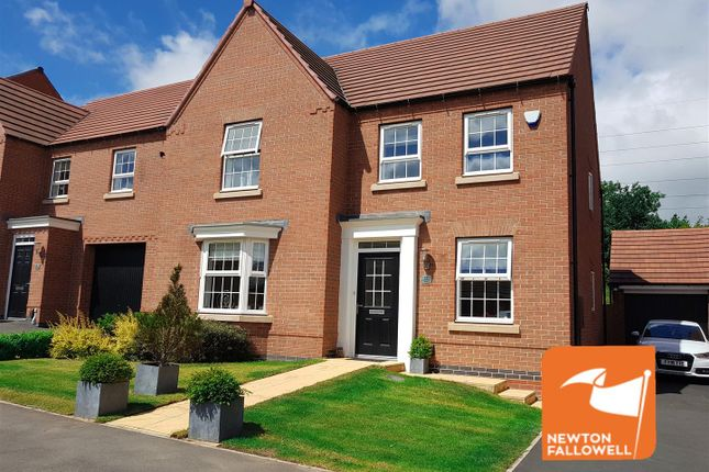 Thumbnail Detached house for sale in Goldcrest Road, Forest Town, Mansfield