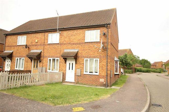 Thumbnail Semi-detached house to rent in Tredington Grove, Caldecotte, Milton Keynes