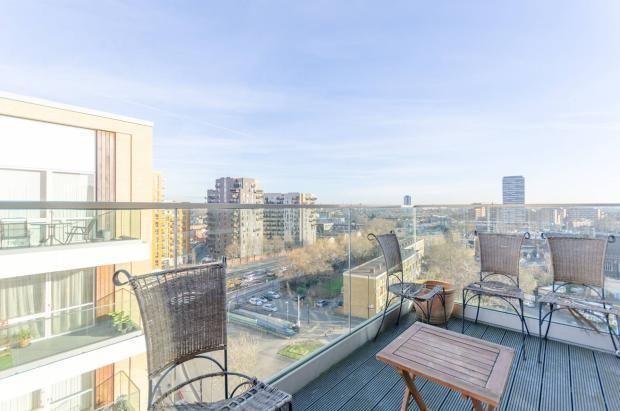 Balcony of Rathbone Street, London E16