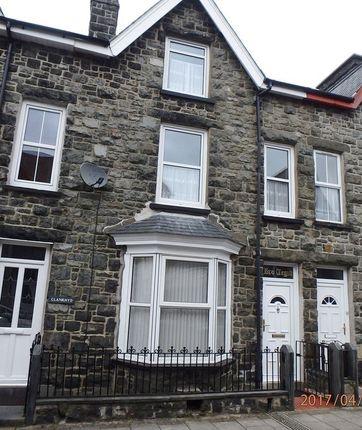 Thumbnail Terraced house to rent in Glyndwr Street, Dolgellau