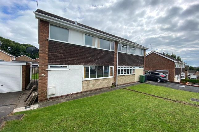 Thumbnail Semi-detached house to rent in Corbyns Hall Road, Pensnett, Brierley Hill