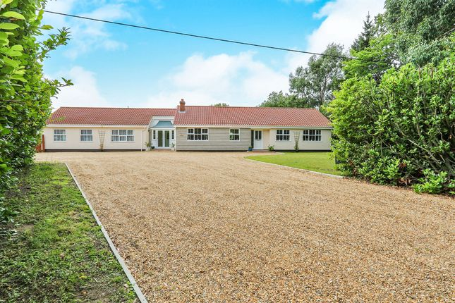 Thumbnail Detached bungalow for sale in Rode Lane, Carleton Rode, Norwich