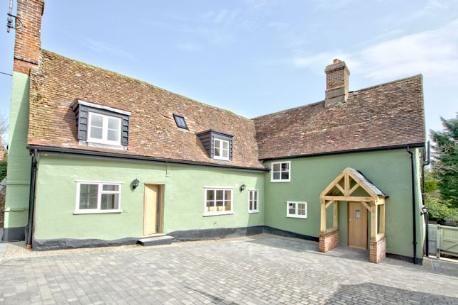 Thumbnail Detached house for sale in The Street, Thurlow, Haverhill
