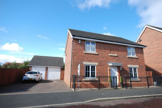 Thumbnail Detached house to rent in Sharperton Drive, Gosforth, Newcastle Upon Tyne