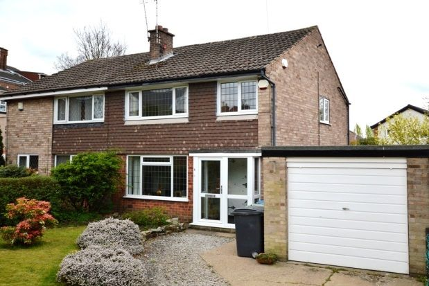 Thumbnail Semi-detached house to rent in Hawksley Avenue, Chesterfield, Derbyshire