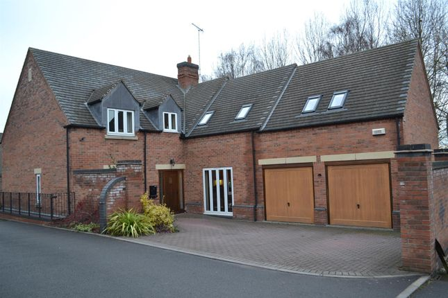 Thumbnail Detached house for sale in Alexandra Court, Overseal, Swadlincote