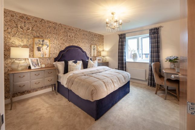 Thumbnail Detached house for sale in Kings Crest, Stafford