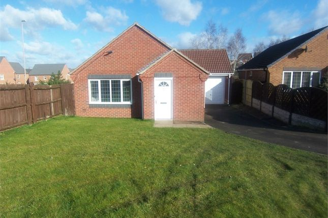 Thumbnail Detached bungalow to rent in Rushpool Close, Forest Town, Mansfield, Nottinghamshire