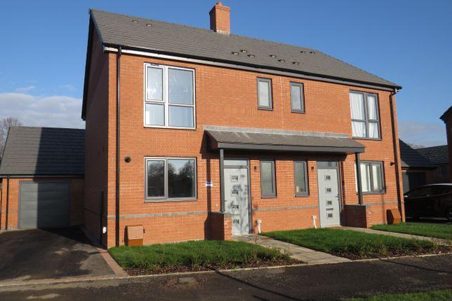 Thumbnail Semi-detached house to rent in De Normanville Avenue, Leamington Spa