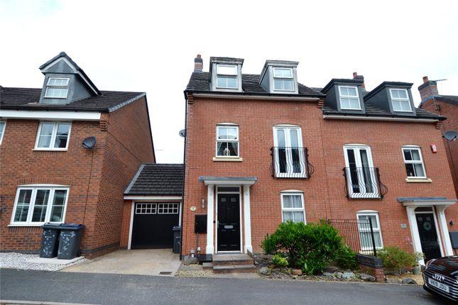 Thumbnail Semi-detached house for sale in Brock Close, Rubery, Rednal, Birmingham