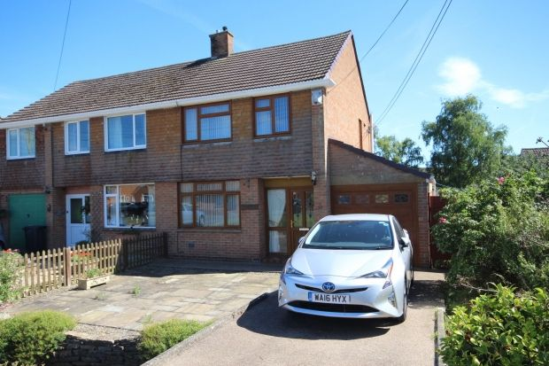 Thumbnail Semi-detached house for sale in School Fields, North Petherton, Bridgwater