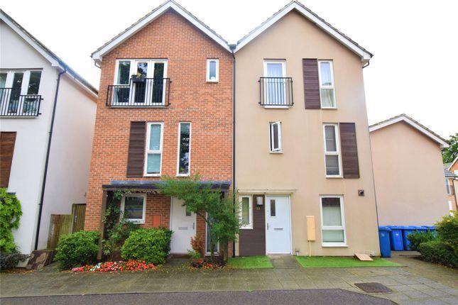 Thumbnail Semi-detached house to rent in Vulcan Drive, Bracknell, Berkshire