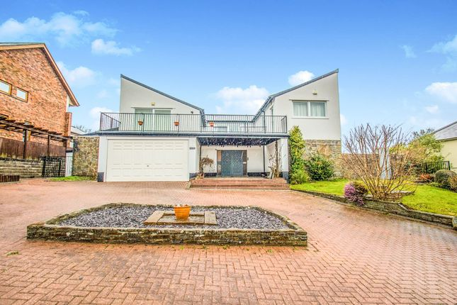 Thumbnail Detached house for sale in Cefn Mably Road, Lisvane, Cardiff