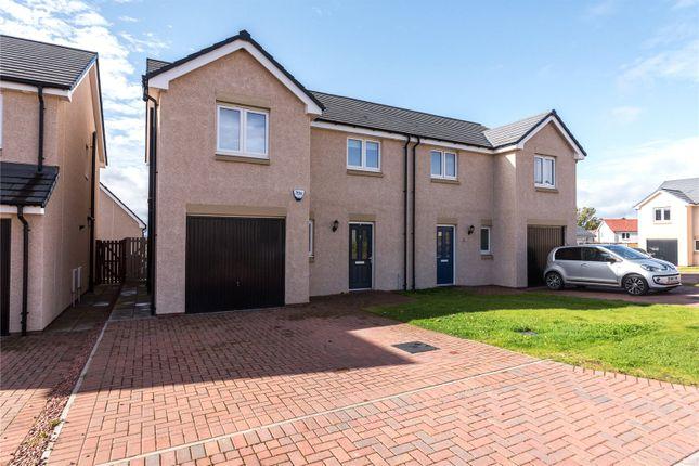 Thumbnail Semi-detached house for sale in South Quarry Brae, Gorebridge, Midlothian
