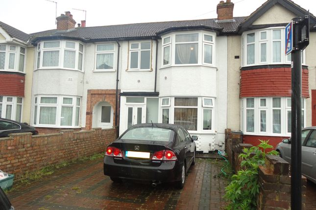 Thumbnail Terraced house to rent in Myrtle Avenue, Feltham