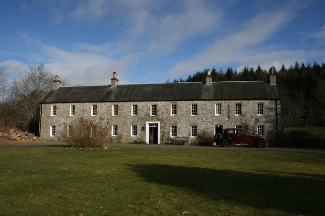 Thumbnail Country house for sale in Private Road Off A9, Ballinluig, By Pitlochry