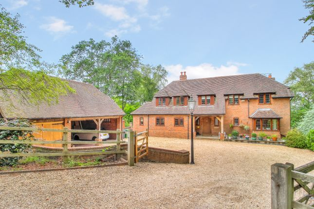 Thumbnail Detached house for sale in Slanting Hill, Hermitage, Thatcham
