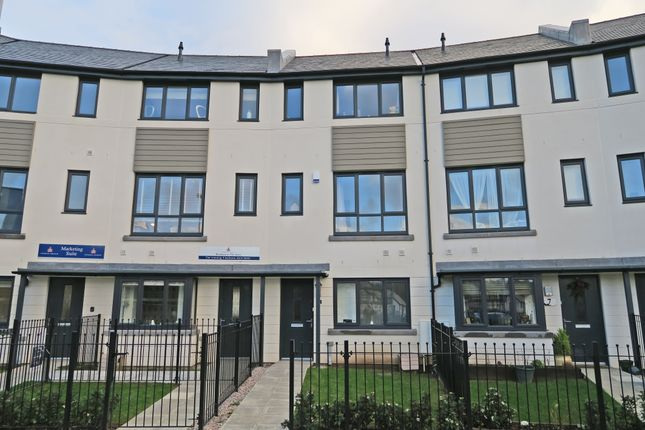 Thumbnail Terraced house for sale in Coscombe Circus, Morley Park, Plymstock, Plymouth