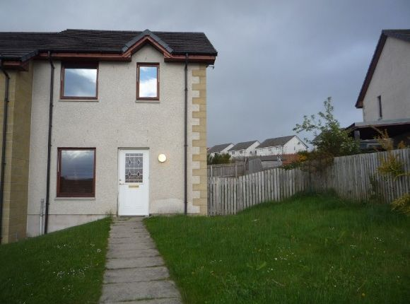 Thumbnail End terrace house to rent in Woodside Court, Inverness
