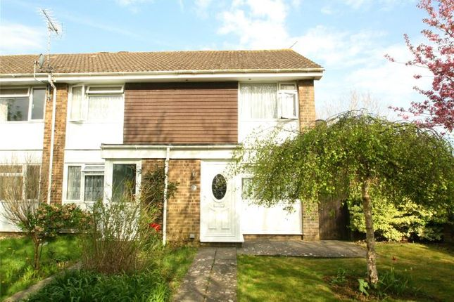 Thumbnail Terraced house for sale in Ontario Close, Worthing, West Sussex