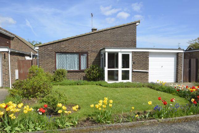 Thumbnail Detached bungalow for sale in Windermere Road, Felixstowe