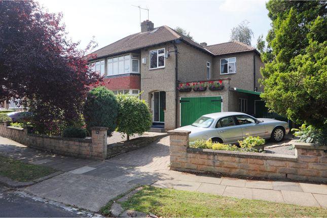 Thumbnail Semi-detached house for sale in Thornbury Rise, Darlington