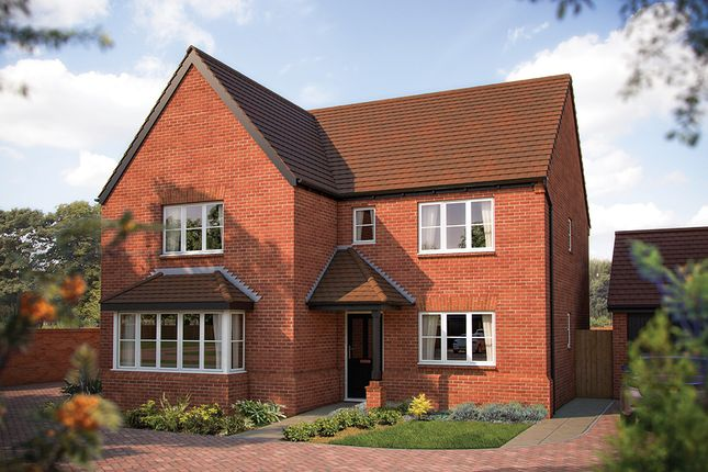 "Thumbnail Detached house for sale in ""The Arundel"" at Gable Mews, Salford Road, Bidford-On-Avon, Alcester"