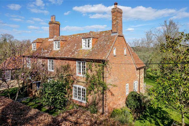 Thumbnail Detached house for sale in Sowley Lane, East End, Lymington, Hampshire