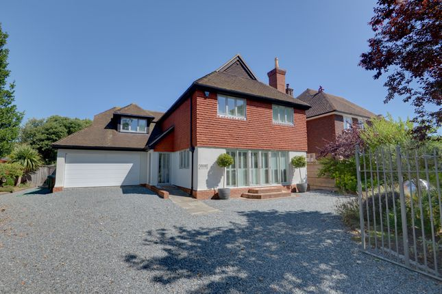 Thumbnail Detached house for sale in Cross Road, Rustington, Littlehampton