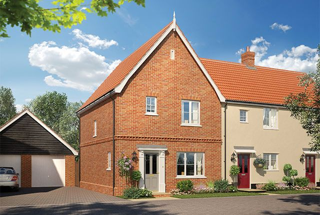 Thumbnail Detached house for sale in Alconbury Weald, Former RAF/Usaaf Base, Huntingdon, Cambridgeshire