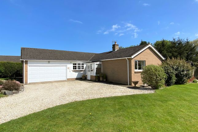Thumbnail Detached bungalow for sale in Kenmore Road, Swarland, Morpeth