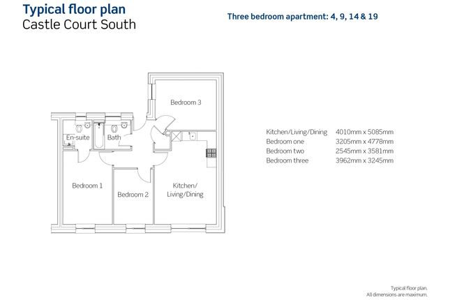 3 bedroom flat for sale in New Hawkins Street, Bristol