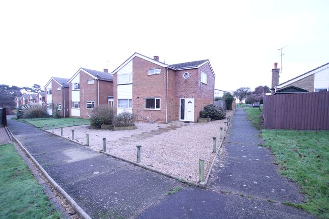 Thumbnail Detached house for sale in Roman Way, Felixstowe