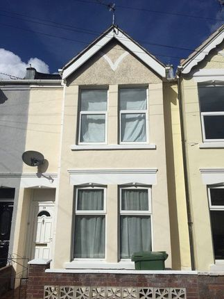 Thumbnail Terraced house to rent in Glasgow Road, Southsea