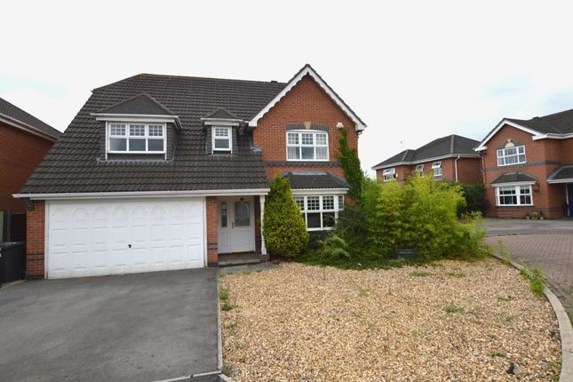 Thumbnail Detached house for sale in Paddock View, Middlewich