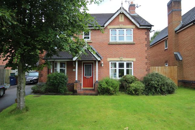 Thumbnail Detached house for sale in High Meadow, Walton-Le-Dale, Preston