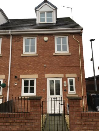 Thumbnail End terrace house to rent in Old Crown Gardens, Barnsley