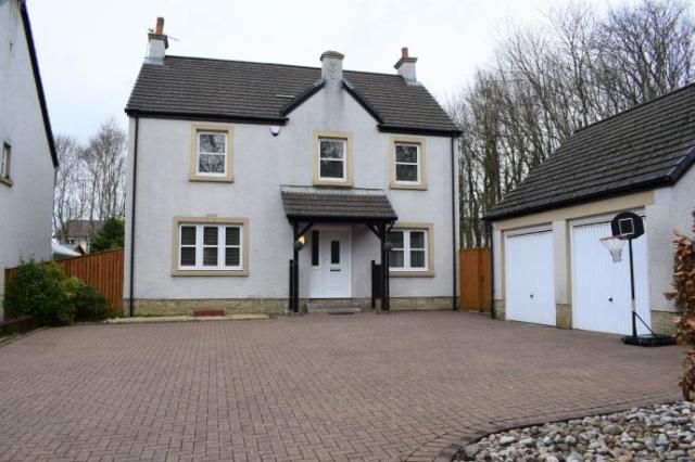 Thumbnail Detached house to rent in The Grange, Irvine, Ayrshire KA11,