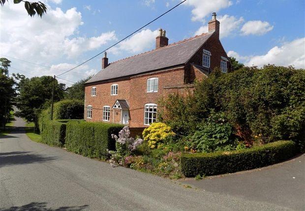 Thumbnail Farmhouse for sale in The Hollow, Normanton Le Heath, Coalville