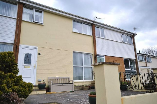 Thumbnail Terraced house for sale in Broadgate Close, Barnstaple