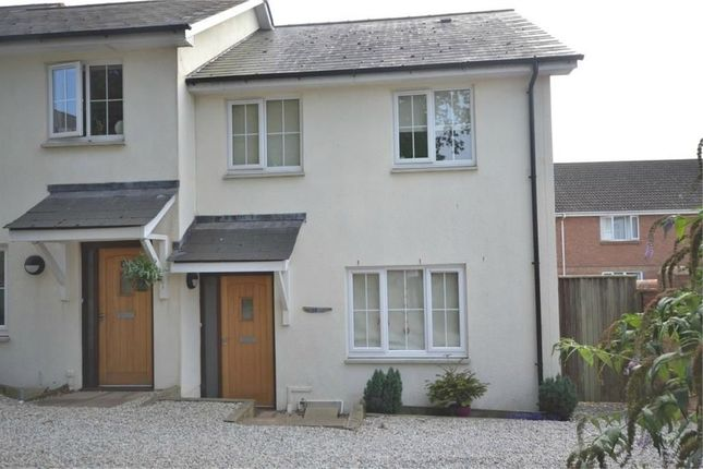 Thumbnail Semi-detached house to rent in Clarence Road, Budleigh Salterton