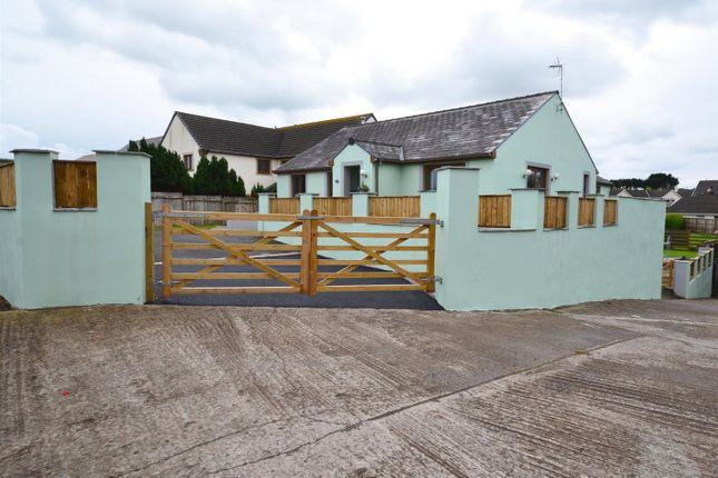 Thumbnail Detached bungalow for sale in West Grove Lane, Hundleton, Pembroke