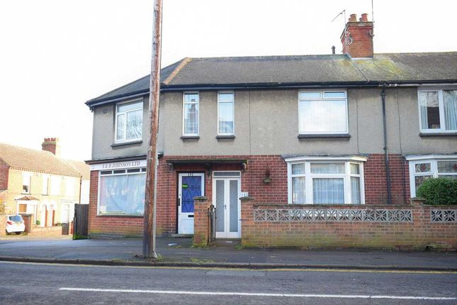 Thumbnail End terrace house for sale in Westfield Road, Wellingborough