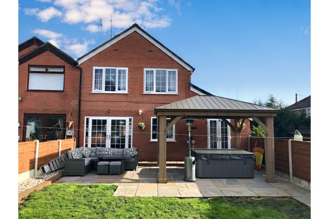 Thumbnail Semi-detached house for sale in Whitegate Avenue, Oldham